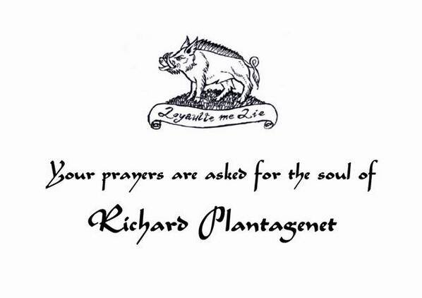prayers for Richard III